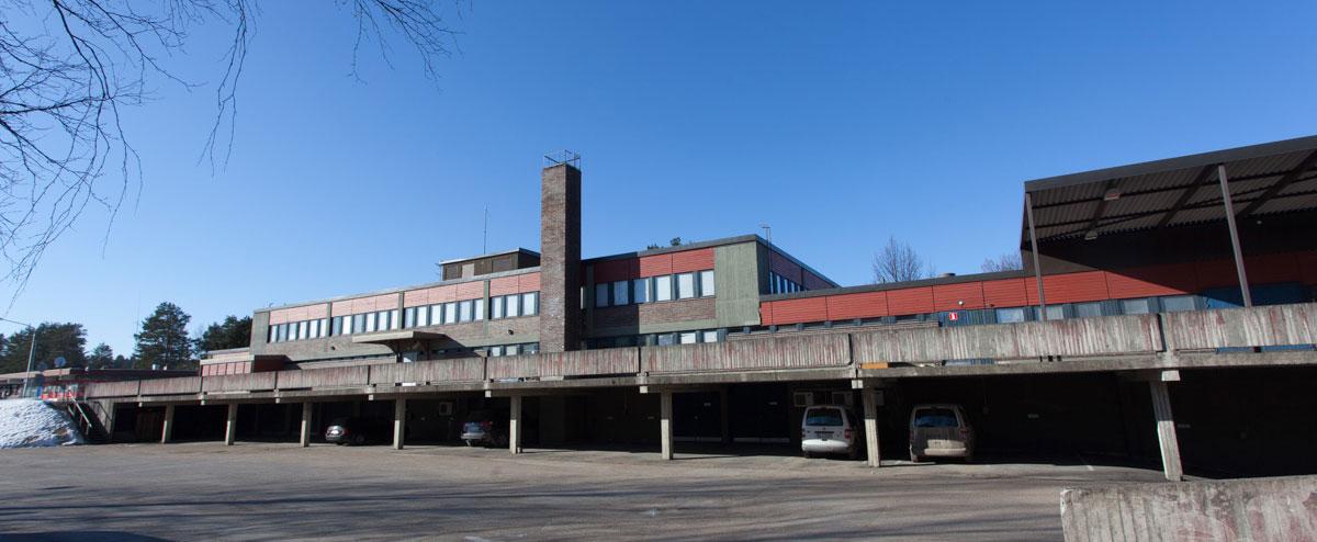 Vuokraa tilat keskeltä Suonenjokea, entisestä virastotalosta